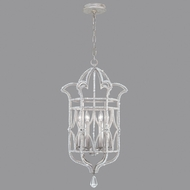 Fine Art Lamps 856640-1ST Prussian Neoclassic Silver Gray Foyer Lighting