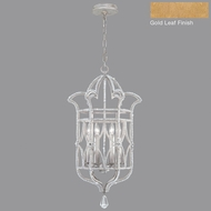 Fine Art Lamps 856640-2ST Prussian Neoclassic Gold Leaf Foyer Light Fixture