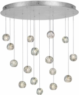 Fine Art Lamps 862840-106ST Natural Inspirations Contemporary Silver Halogen Multi Drop Ceiling Lighting