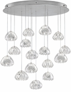 Fine Art Lamps 862840-107ST Natural Inspirations Contemporary Silver Halogen Multi Lighting Pendant