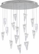 Fine Art Lamps 862840-108ST Natural Inspirations Modern Silver Halogen Multi Pendant Lamp
