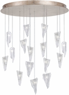 Fine Art Lamps 862840-208ST Natural Inspirations Modern Gold Halogen Multi Hanging Light