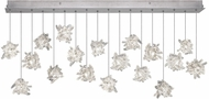 Fine Art Lamps 863040-102ST Natural Inspirations Contemporary Silver Halogen Multi Hanging Light