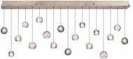 Fine Art Lamps 863040-206ST Natural Inspirations Contemporary Gold Halogen Multi Drop Ceiling Lighting