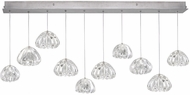 Fine Art Lamps 863240-107ST Natural Inspirations Contemporary Silver Halogen Multi Pendant Hanging Light