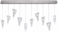 Fine Art Lamps 863240-108ST Natural Inspirations Modern Silver Halogen Multi Hanging Light Fixture