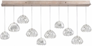 Fine Art Lamps 863240-207ST Natural Inspirations Contemporary Gold Halogen Multi Drop Lighting