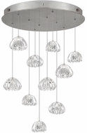 Fine Art Lamps 863540-107ST Natural Inspirations Contemporary Silver Halogen Multi Ceiling Light Pendant