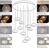 Fine Art Lamps 863540 Natural Inspirations 22  Wide Halogen Multi Pendant Light Fixture
