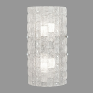 Fine Art Lamps 865250-21ST Contructivism Contemporary Silver LED Wall Lighting Fixture
