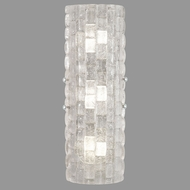 Fine Art Lamps 865450-21ST Contructivism Modern Silver LED Wall Sconce