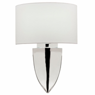 Fine Art Lamps 871650ST Grosvenor Square Contemporary Polished Nickel Wall Light Fixture