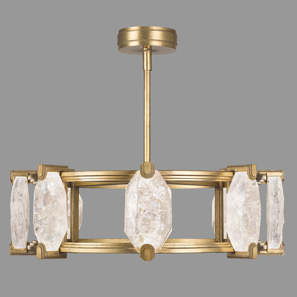 Fine art lamps 872840 2st allison paladino contemporary for How to make a modern chandelier