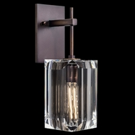 Fine Art Lamps 875050ST Monceau Patinated Bronze Wall Light Sconce