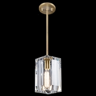 Fine Art Lamps 875440-2ST Monceau Soft Gold Leaf Hanging Light