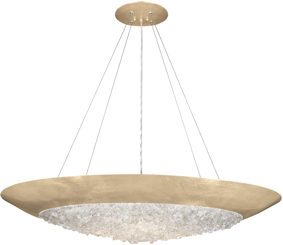 Fine art lamps 876540 1st arctic halo champagne tinted gold leaf fine art lamps 876540 1st arctic halo champagne tinted gold leaf pendant hanging light loading zoom aloadofball Choice Image