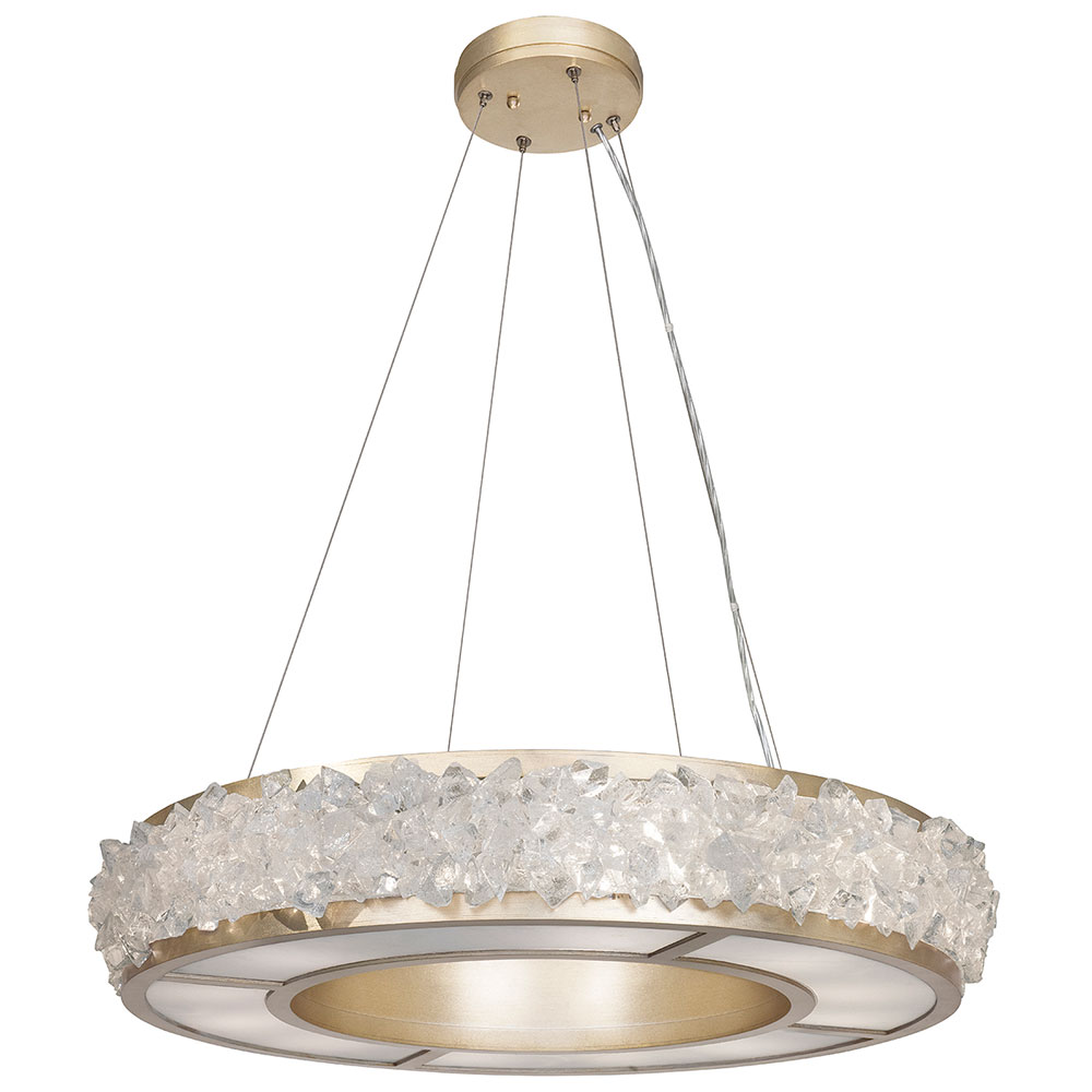 Fine art lamps 878140 1st arctic halo champagne tinted gold leaf fine art lamps 878140 1st arctic halo champagne tinted gold leaf drop ceiling light fixture loading zoom aloadofball Image collections