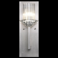 Fine Art Lamps 878550-1ST Neuilly Silver Leaf Lighting Sconce