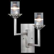 Fine Art Lamps 878850-1ST Neuilly Silver Leaf Wall Lighting Fixture