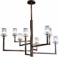 Fine Art Lamps 879140ST Neuilly Patinated Bronze Hanging Chandelier