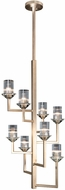 Fine Art Lamps 879340-2ST Neuilly Soft Gold Leaf Chandelier Light