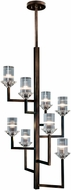 Fine Art Lamps 879340ST Neuilly Patinated Bronze Ceiling Chandelier