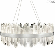 Fine Art Lamps 882140-11ST Lior Contemporary Silver LED Hanging Lamp