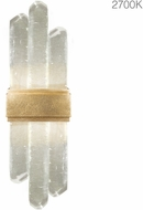 Fine Art Lamps 882150-21ST Lior Modern Gold LED 14  Wall Light Sconce