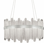 Fine Art Lamps 882540-1ST Lior Contemporary Silver LED Drop Ceiling Lighting