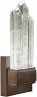 Fine Art Lamps 882550-3ST Lior Contemporary Bronze LED 16 Wall Sconce Light