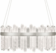 Fine Art Lamps 882840-1ST Lior Contemporary Silver LED Drop Ceiling Lighting