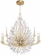 Fine Art Lamps 883340-1ST Lily Buds Gold Chandelier Lighting