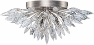 Fine Art Lamps 883640ST Lily Buds Silver Overhead Lighting