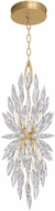 Fine Art Lamps 883740-1ST Lily Buds Gold Mini Pendant Lighting