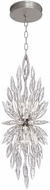 Fine Art Lamps 883740ST Lily Buds Silver Mini Pendant Light