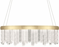 Fine Art Lamps 888540-2ST Lior Contemporary Gold LED 41  Hanging Pendant Light