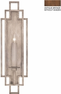 Fine Art Lamps 889350-1ST Cienfuegos Bronze Wall Light Fixture