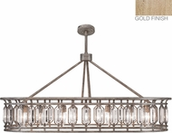 Fine Art Lamps 889940-2ST Westminster Gold Island Lighting