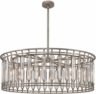 Fine Art Lamps 890240-1ST Westminster Antique Dark Drum Hanging Pendant Lighting