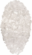 Fine Art Lamps 891650-304ST Natural Inspirations Hailstones Halogen Wall Mounted Lamp