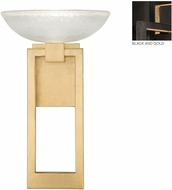 Fine Art Lamps 896150-3ST Delphi Modern Black LED Wall Light Fixture