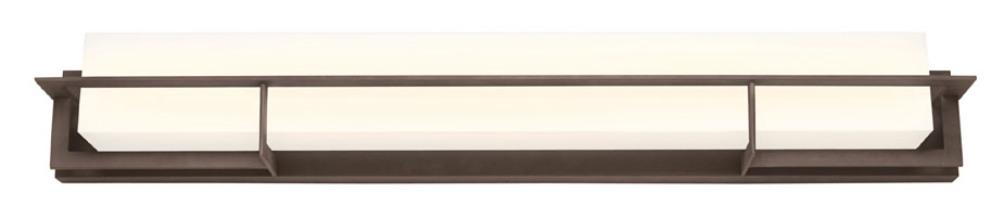 Bathroom Vanity Lights In Bronze philips 190267852 loft textured bronze 40 inch wide bathroom