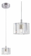 Philips FA0014836 Liz Mini LED Clear Crystal Bar Lighting Pendant