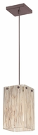 Philips FC0028870 Ecoframe Mini Inlaid Bamboo 6 Inch Wide Drop Lighting