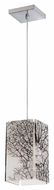 Philips FC0031836 Ecoframe 6 Inch Wide Inlaid Coral Mini Pendant Lighting