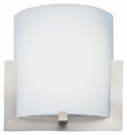 Philips FL0001836 Bow Large 12 Inch Wide Satin Nickel Wall Light Sconce