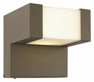Philips FW0001811 Chock Small Modern 6 Inch Tall Exterior Wall Light - Bronze TDL