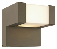 Philips FW0002811 Chock Large 8 Inch Tall Contemporary Bronze TDL Exterior Sconce