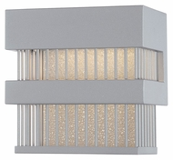Philips FW0003810 Corydon Small 8 Inch Tall Contemporary Graphite Exterior Sconce