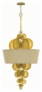 Fredrick Ramond 31246SPG Barolo Contemporary Spanish Gold Finish 24  Wide Foyer Pendant Light